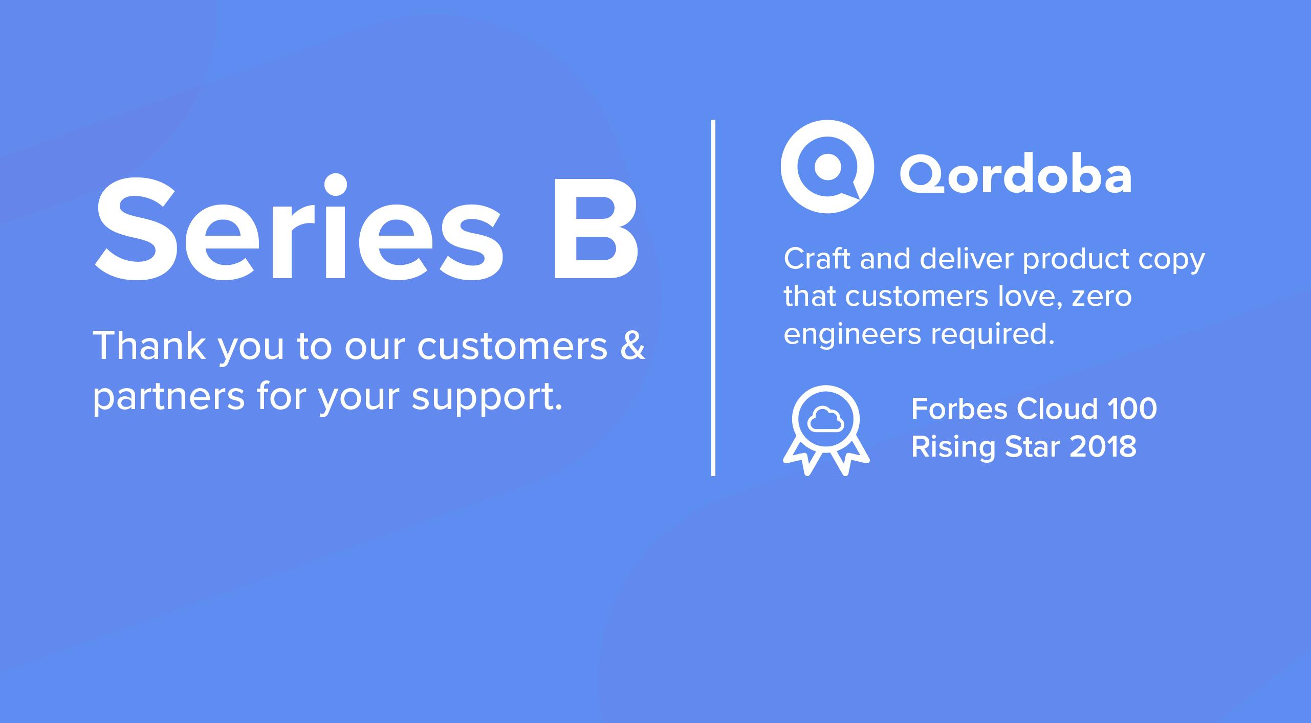 Qordoba Receives Series B Funding Led by Aspect Ventures' Jennifer Fonstad