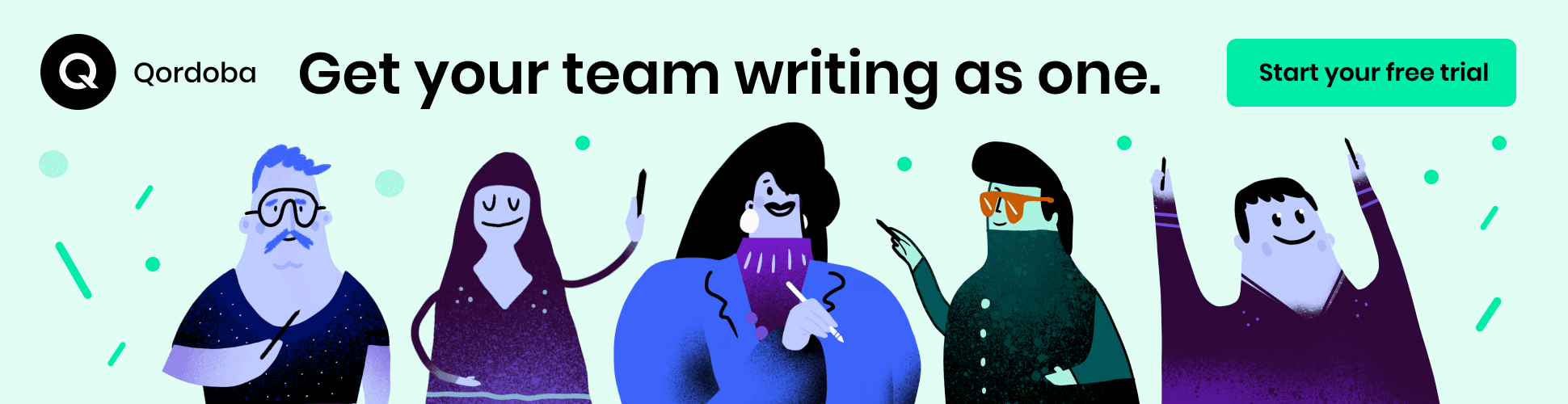 Get your team writing as one. Start your free Writer trial.