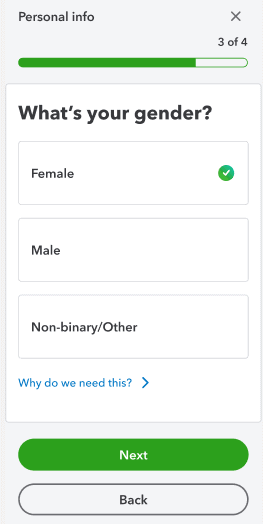 Intuit WhatsYourGender