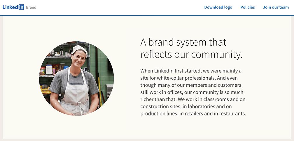 LinkedIn brand
