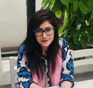 Masooma Memon, a freelance writer for SaaS companies.