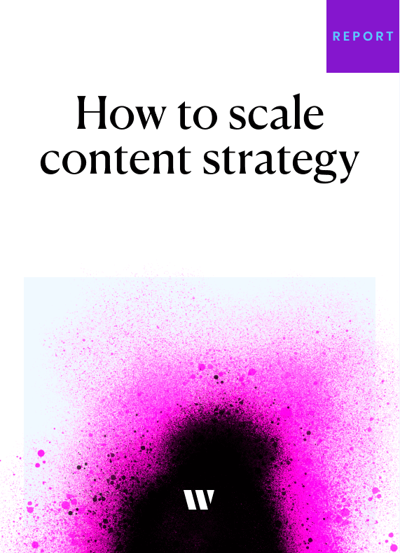 Reports – How to Scale content strategy