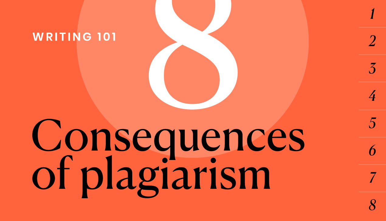 The 8 consequences of plagiarism