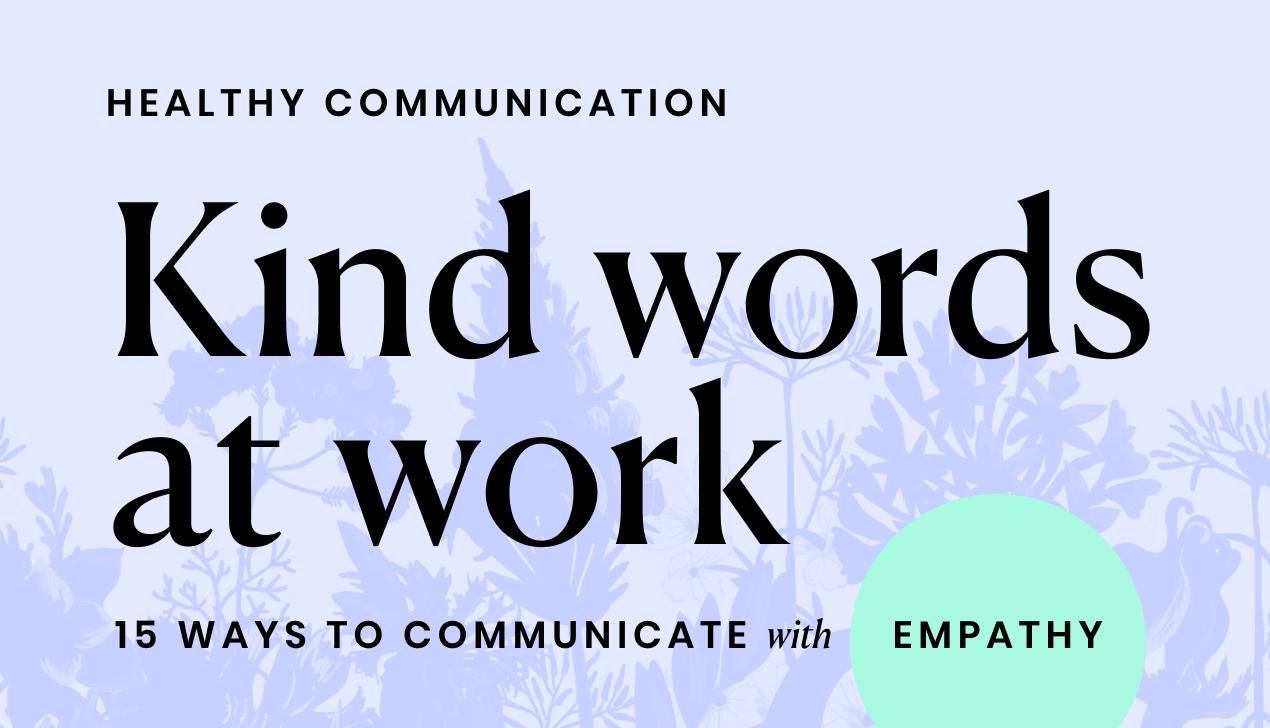 Kind-words-at-work