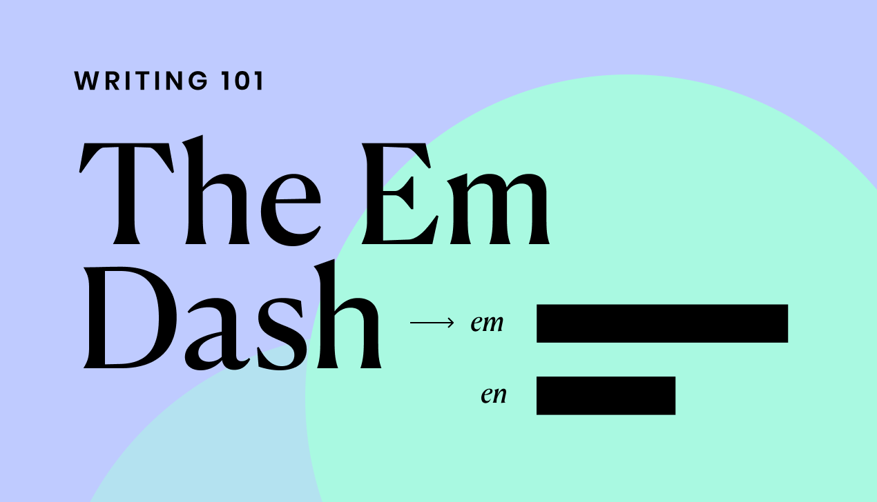Em Dash: What it is and When to use it