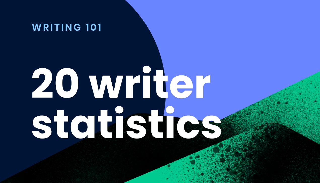 20 writing statistics