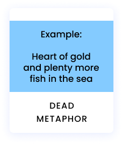 Example: Heart of gold and plenty more fish in the sea