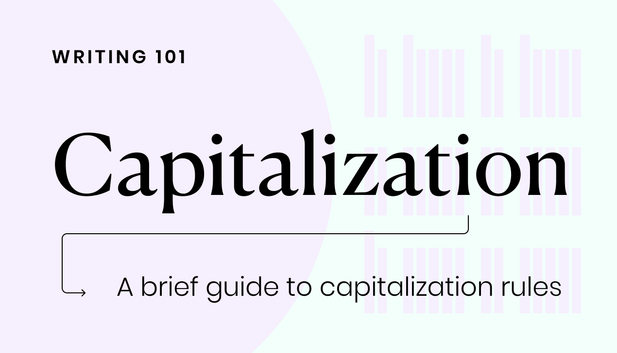 A brief guide to capitalization rules