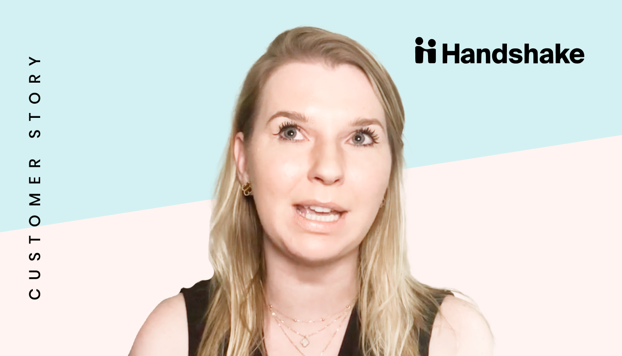 Maria from Handshake on writing for marketplaces
