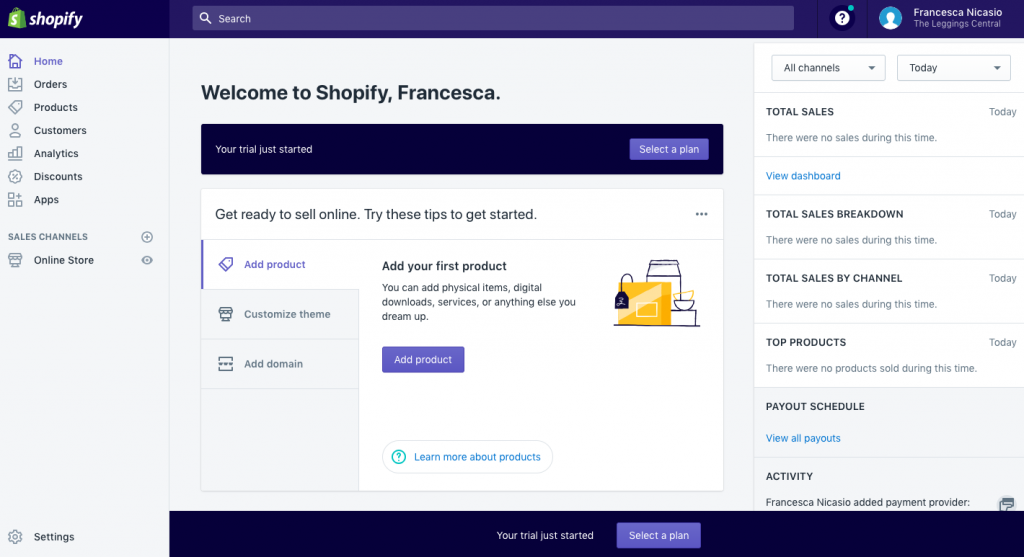 Shopify's voice guideline