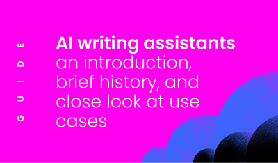 AI writing assistants